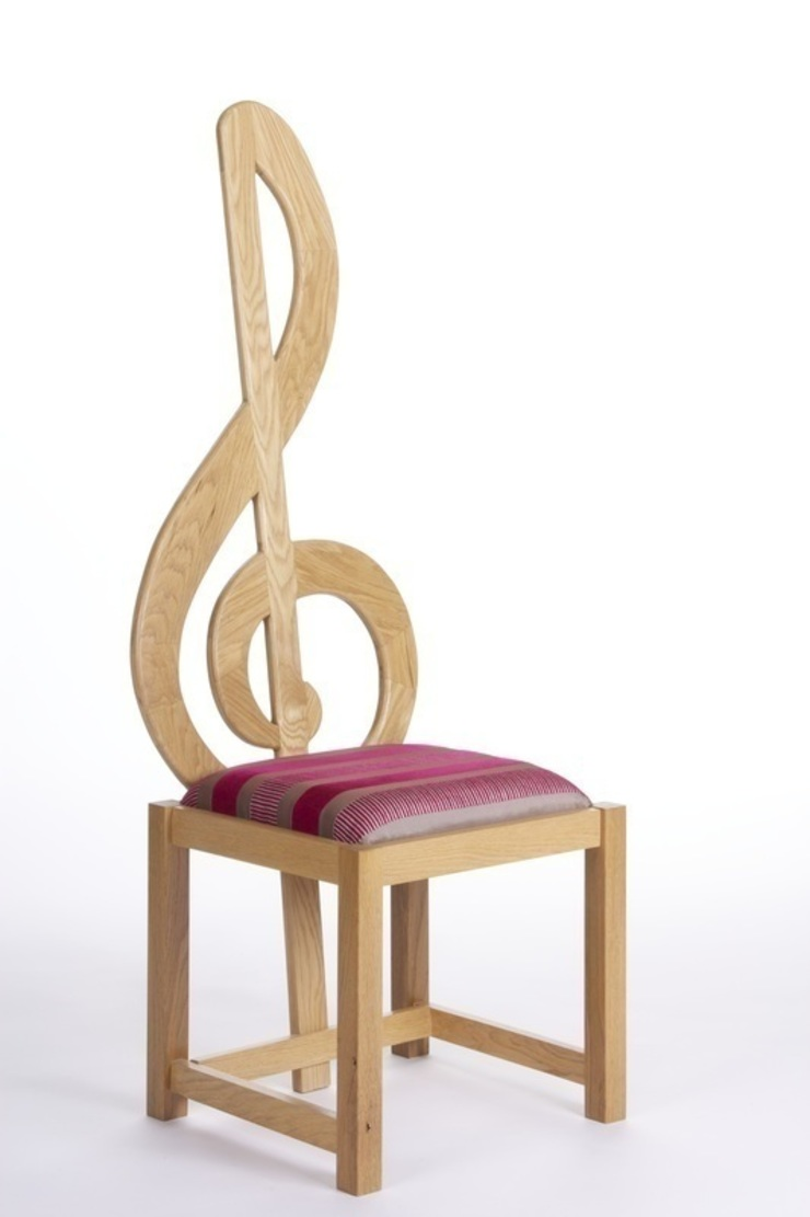 Treble Clef Chair de Brocklehurst Furniture Moderno