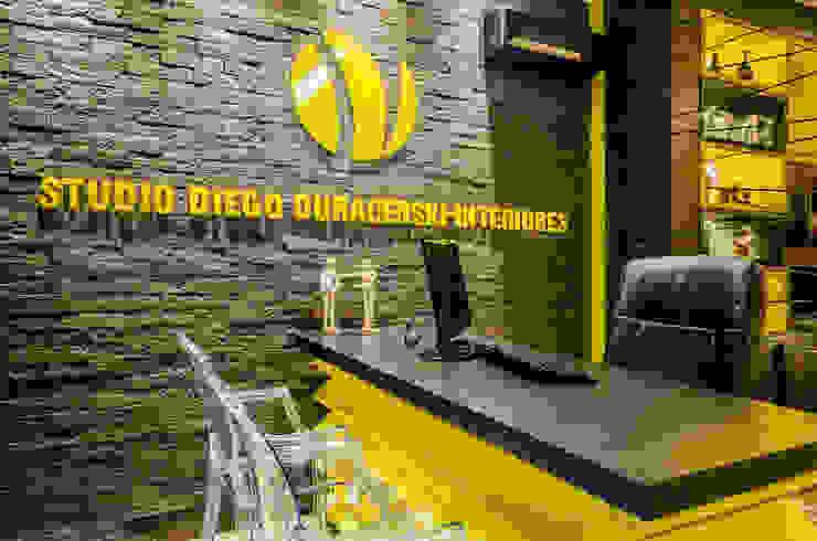 Studio Diego Duracenski interiores Espaços comerciais modernos por Studio Diego Duracenski Interiores Moderno