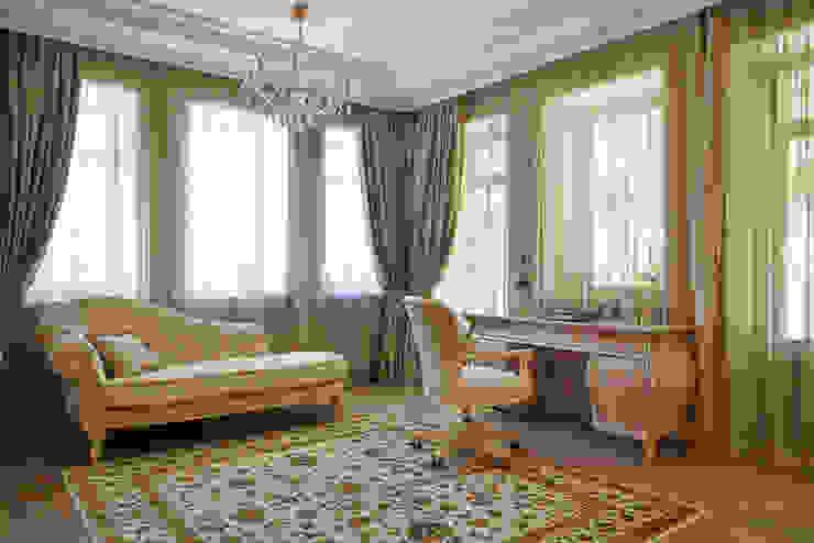 Будуар Рабочий кабинет в классическом стиле от ODEL Классический
