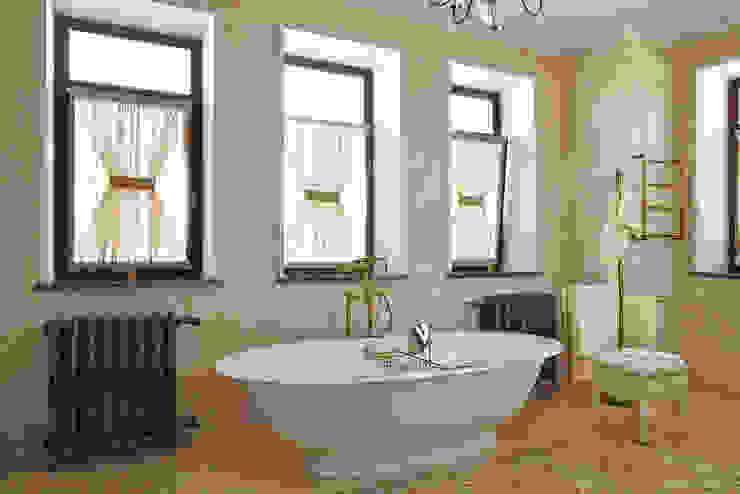 Ванная комната Ванная в классическом стиле от ODEL Классический