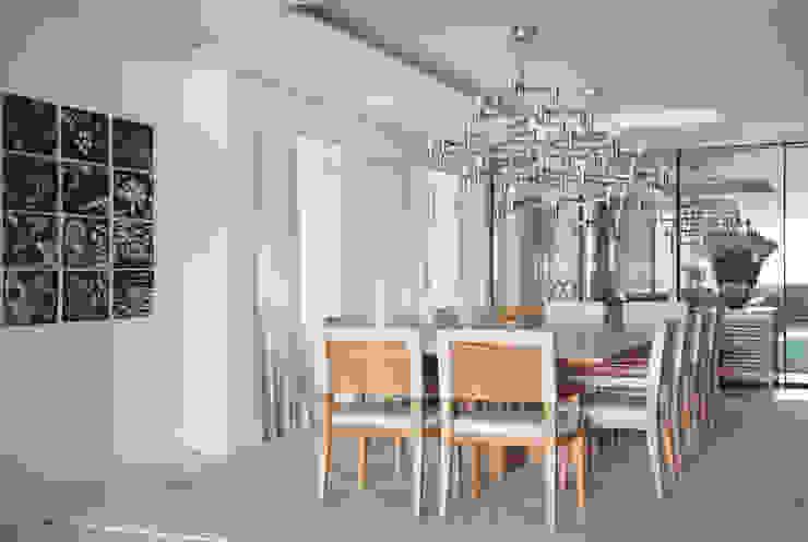 Residência Vieira Souto Salas de jantar modernas por Bezamat Arquitetura Moderno