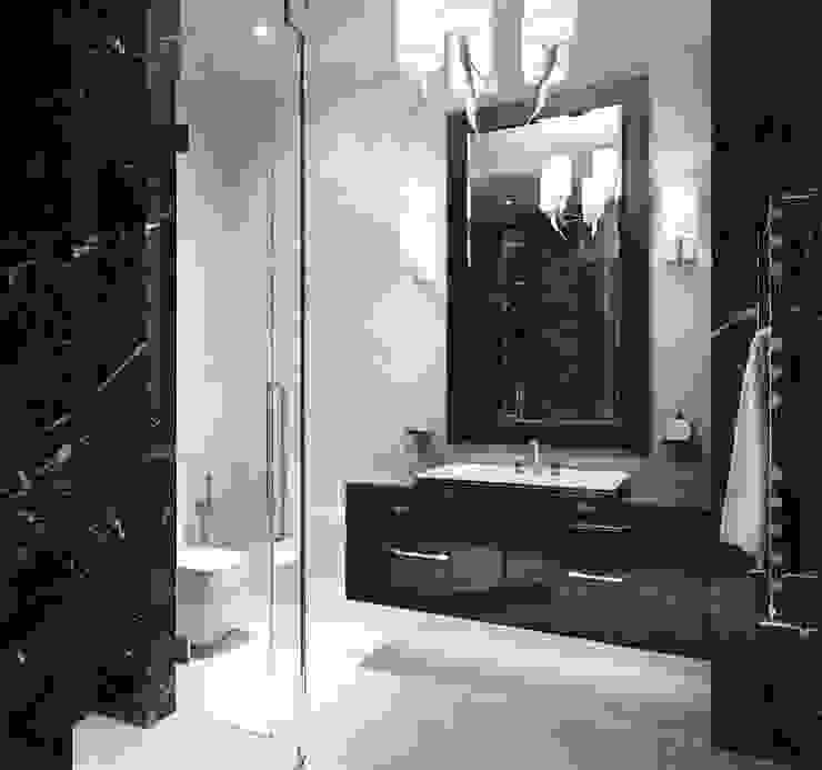Dark Bedrooms Ванная комната в стиле модерн от DenisBu Модерн