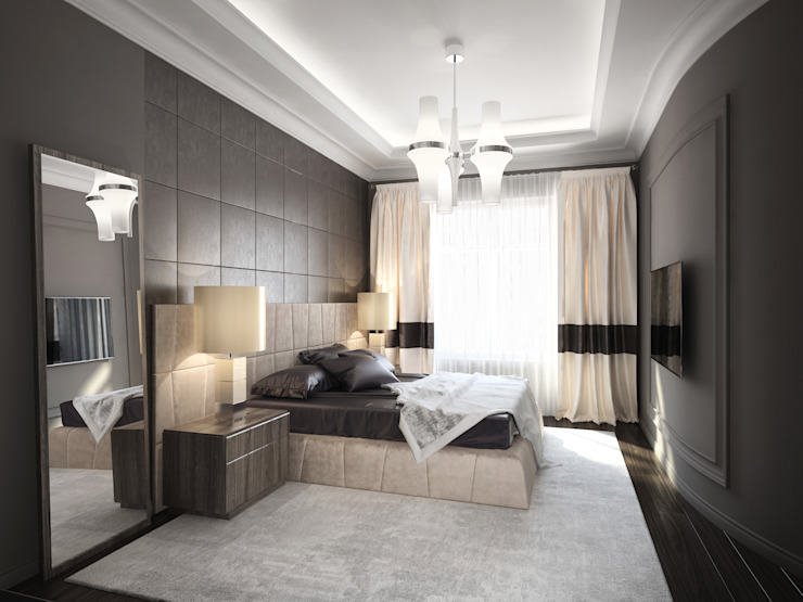 Modern style bedroom by DenisBu Modern