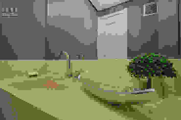 ABHP ARQUITETURA Modern bathroom