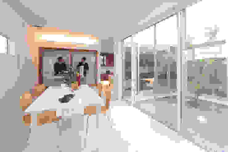 内田建築デザイン事務所 Salle à manger moderne