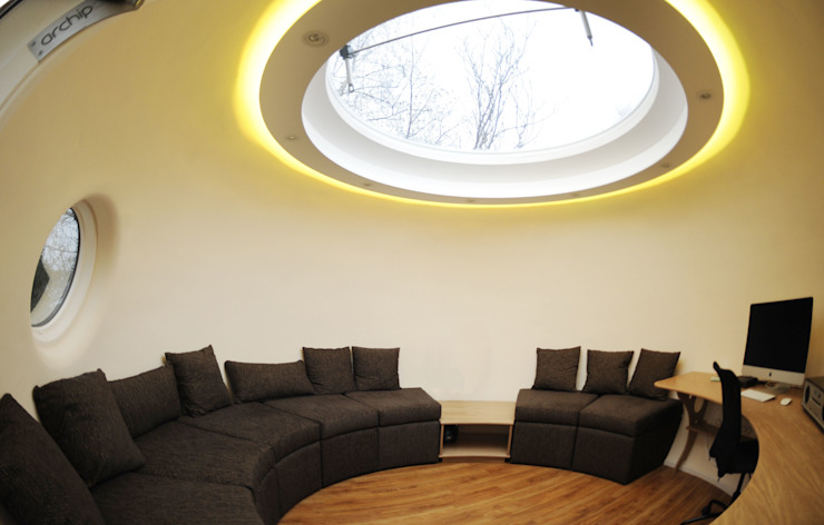 Archipod in Ayrshire, Scotland Archipod Modern Study Room and Home Office