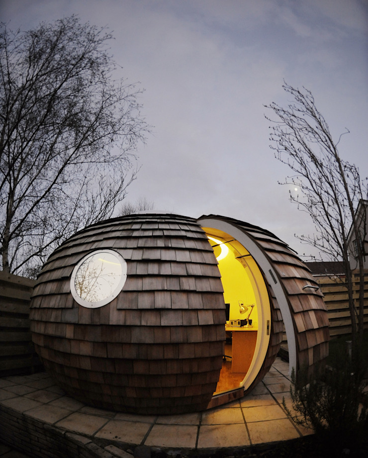Archipod Archipod Modern Study Room and Home Office