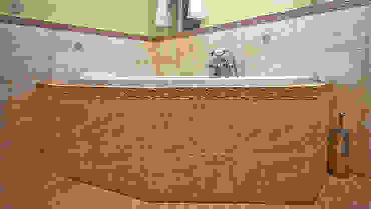 Kolonialna klasyka Bednarski - Usługi Ogólnobudowlane Kolonialna łazienka