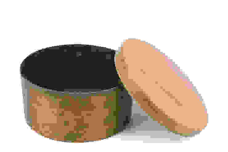 Found copper box de aimee bollu Rústico