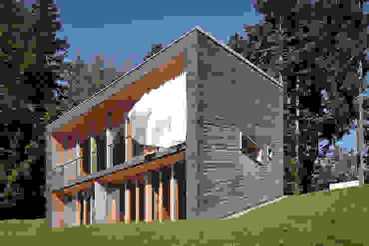 Projekty,  Domy zaprojektowane przez Yonder – Architektur und Design, Nowoczesny
