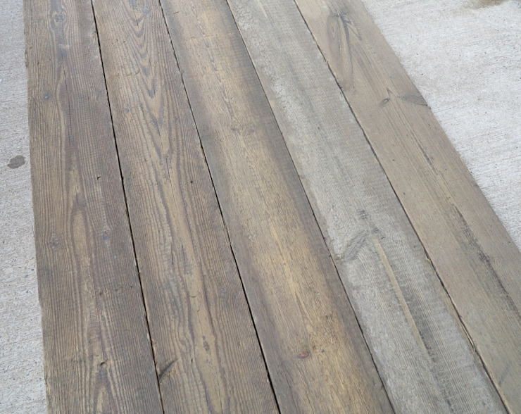 Reclaimed Antique Square Edged Pine Floorboards: classic  by UKAA | UK Architectural Antiques , Classic