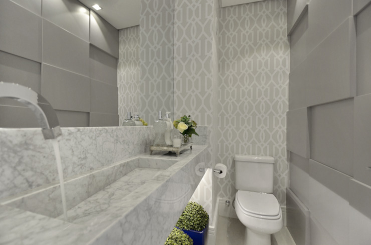 Lavabo J|R Banheiros clássicos por Redecker + Sperb arquitetura e decoração Clássico