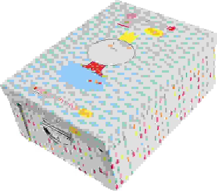 Boîte de rangement enfant - Collection Léo & Lulu:  de style  par Incidence, Éclectique