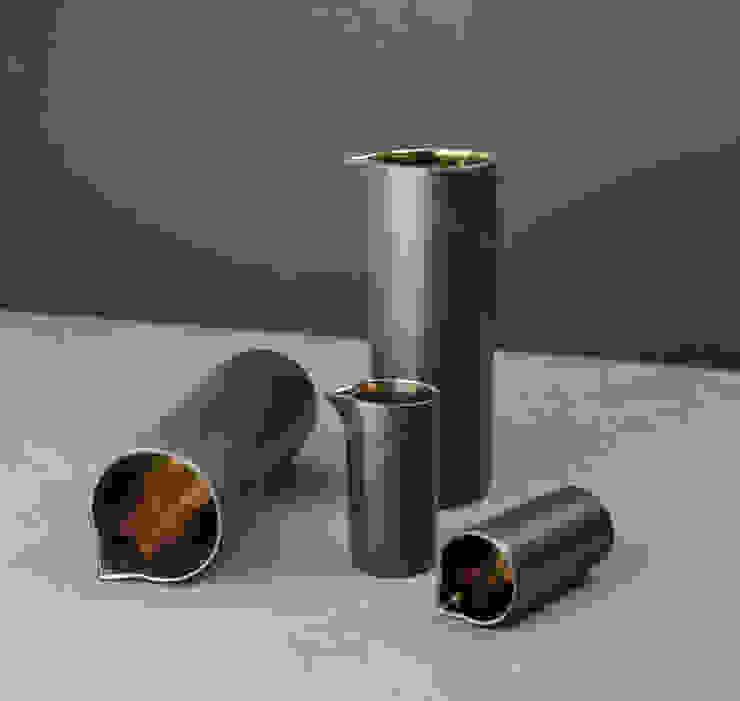 Metallic Bronze Ceramic Table Jugs by Nom Living Iндустріальний