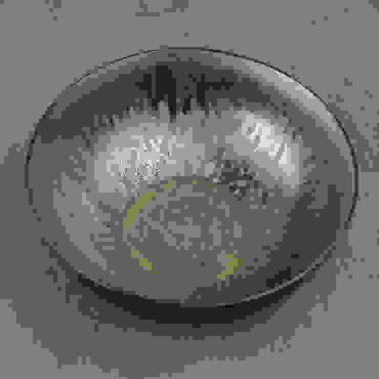 Metallic Glaze Rustic Classic Bowl by Nom Living Iндустріальний