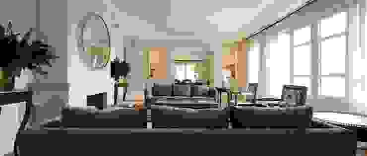 Casa de campo en el sur de Francia Salones de estilo clásico de La Californie Clásico