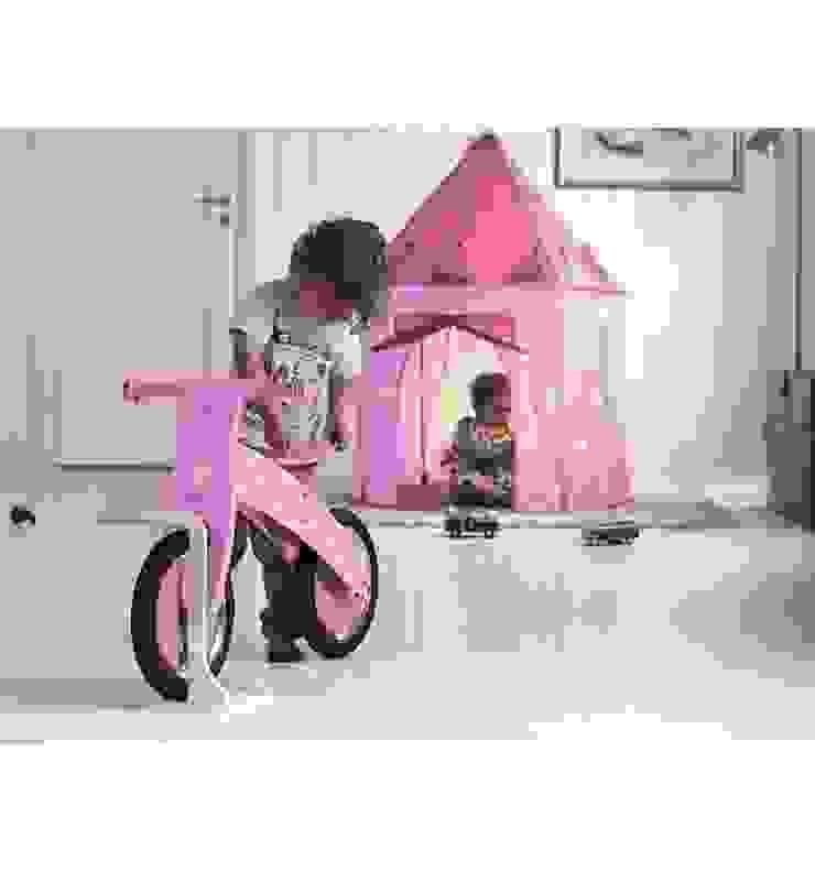 Namiot dla dziewczynki w pokoju dziecięcym. Skandynawski pokój dziecięcy od Sklep Internetowy Kiddyfave.pl Skandynawski