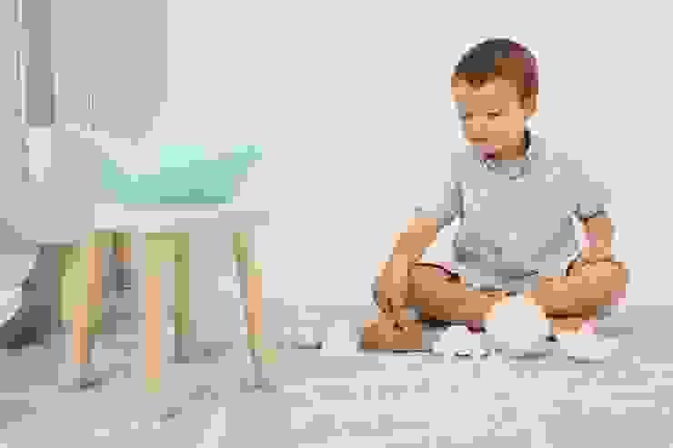 Dywan dla dzieci Hippy Mint marki Lorena Canals to dodatek idealny do wnętrz skandynawskich od Sklep Internetowy Kiddyfave.pl Skandynawski