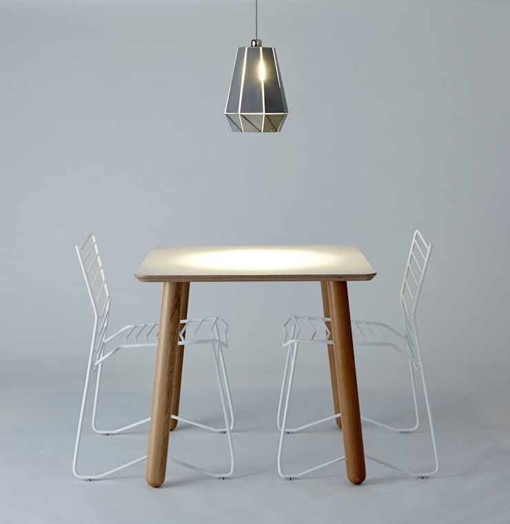 Kai, Grace and Flora Small Tulip: industrial  by And Then Design Limited, Industrial