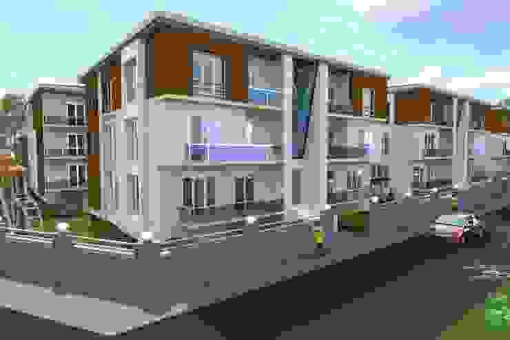 Site Projesi Modern Evler PORTAKAL MİMARLIK MÜHENDİSLİK İNŞAAT RÖLÖVE VE RESTORASYON Modern