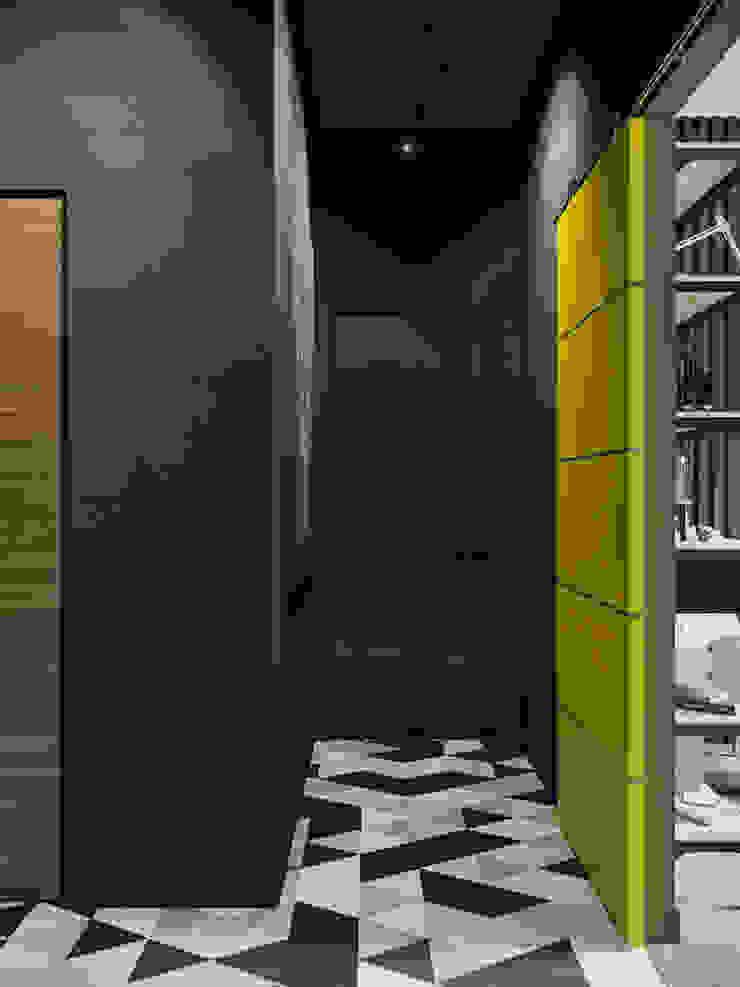 Квартира в стиле пост-модерн Коридор, прихожая и лестница в стиле лофт от Denis Krasikov Лофт