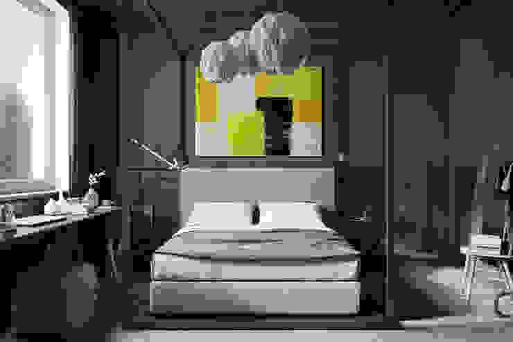 Industriale Schlafzimmer von Denis Krasikov Industrial