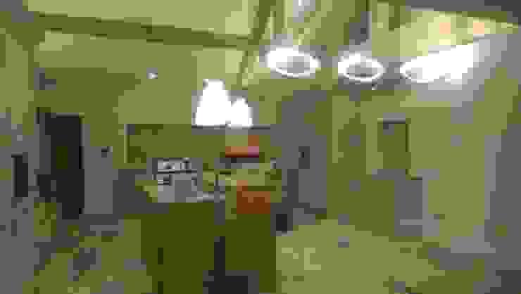 Farmhouse Restoration Project Modern kitchen by Inspire Audio Visual Modern