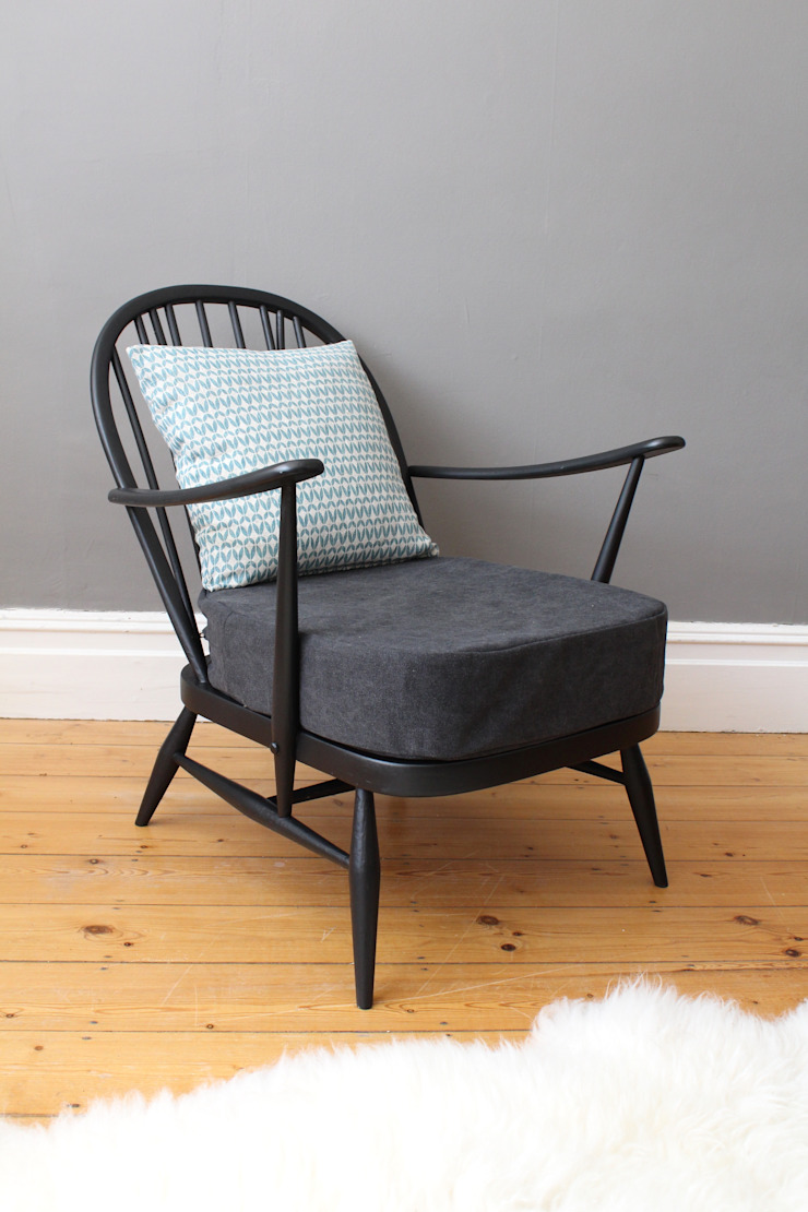 Vintage Ercol Windsor easy chair: classic  by Owl and the Elephant, Classic