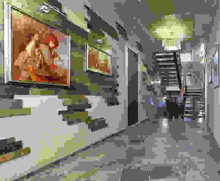 Холл 2-го этажа от Baydyuk Design Company Минимализм