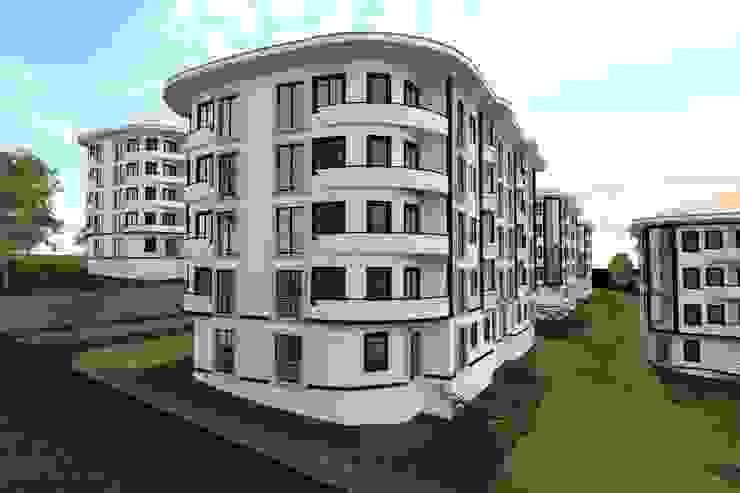 Modern Site Projesi Modern Evler PORTAKAL MİMARLIK MÜHENDİSLİK İNŞAAT RÖLÖVE VE RESTORASYON Modern