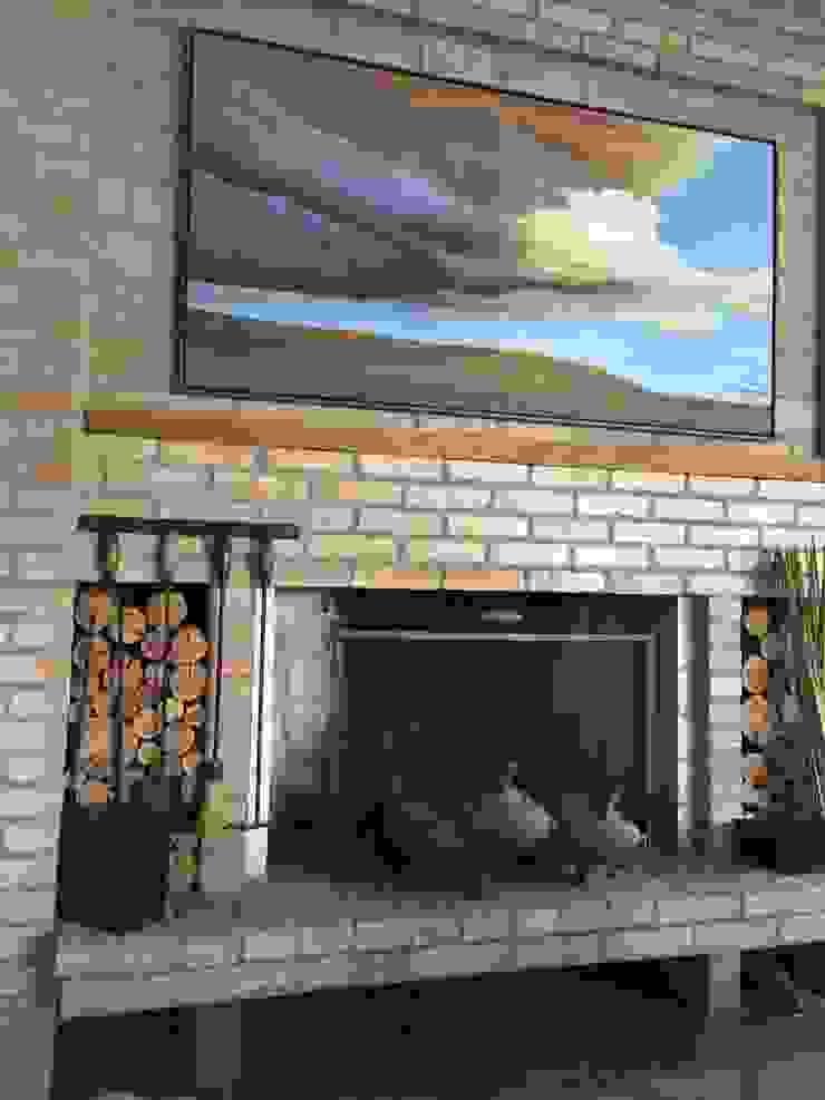 Tellini Vontobel Arquitetura Living room