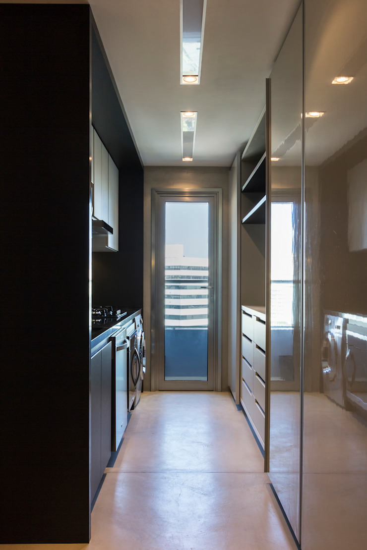 Dapur Modern Oleh Studiodwg Arquitetura e Interiores Ltda. Modern