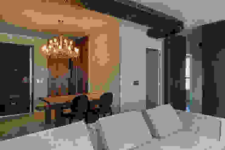 Urban Loft Salas de estar modernas por Studiodwg Arquitetura e Interiores Ltda. Moderno