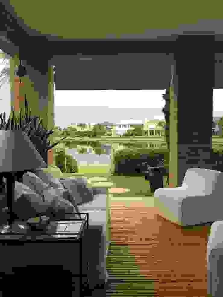 Tellini Vontobel Arquitetura Patios & Decks