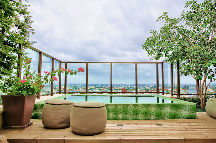 Tellini Vontobel Arquitetura Modern Terrace