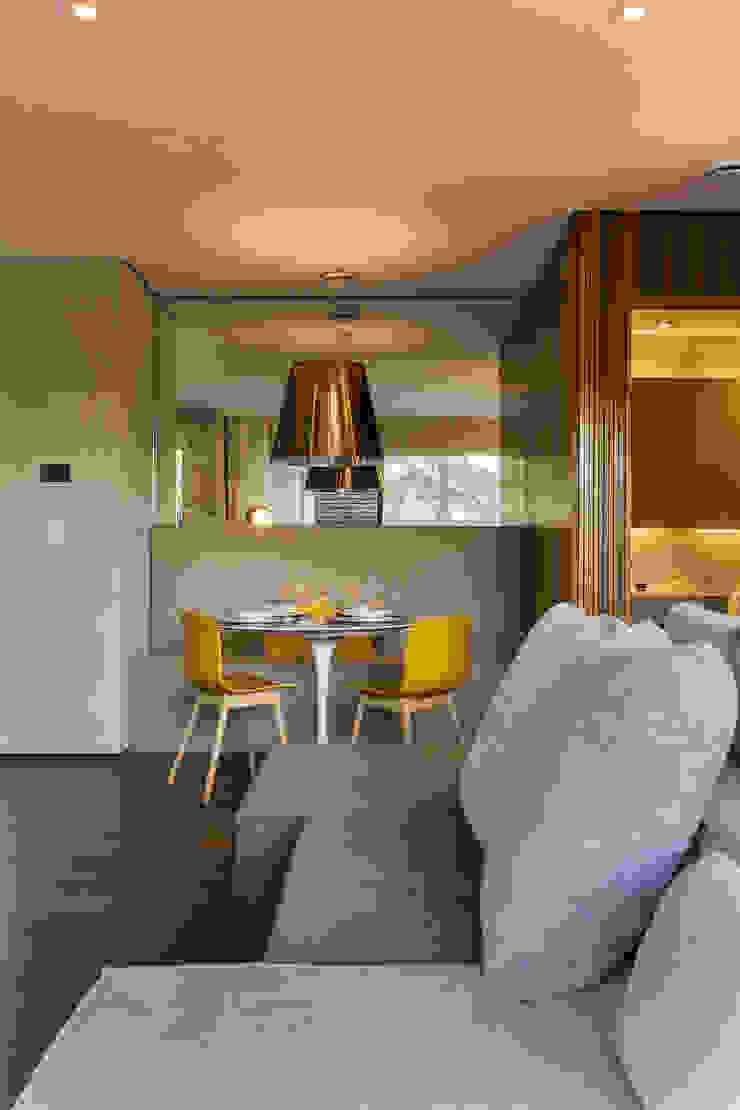 Studiodwg Arquitetura e Interiores Ltda. 餐廳