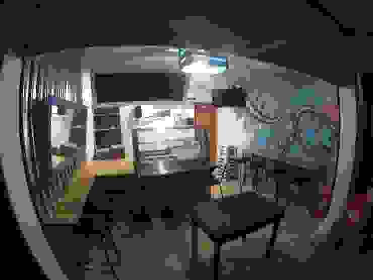 interior Gastronomía de estilo tropical de Armatoste studio Tropical