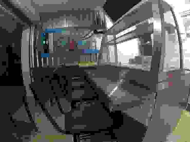 barra Gastronomía de estilo tropical de Armatoste studio Tropical