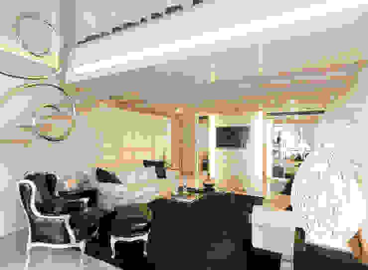 STUDIO CERON & CERON Eclectic style living room