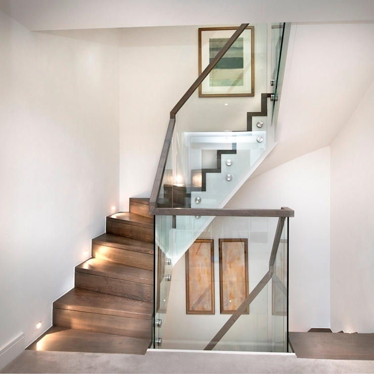 En-core system for large projects : modern  by Smet UK - Staircases, Modern