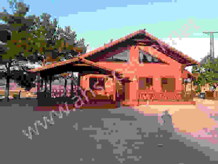 บ้านและที่อยู่อาศัย โดย AZRA AHŞAP EVLER, โมเดิร์น