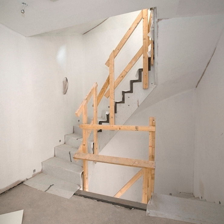 En-core system for large projects by Smet UK - Staircases