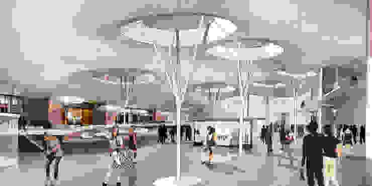 Innenperspektive Plaza von Achtergarde + Welzel Architektur + Interior Design