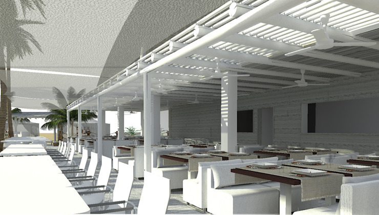 Hotel de Diseño para Adultos Hoteles de estilo tropical de Verum Hotel Development Tropical
