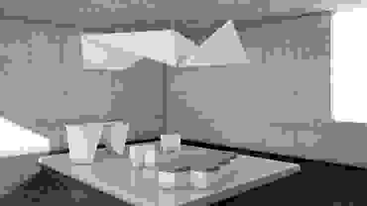 STANDS DISEÑO PERSONALIZADO Diseño de ferias de estilo minimalista de CARDBOARD FURNITURE AND PROJECTS Minimalista