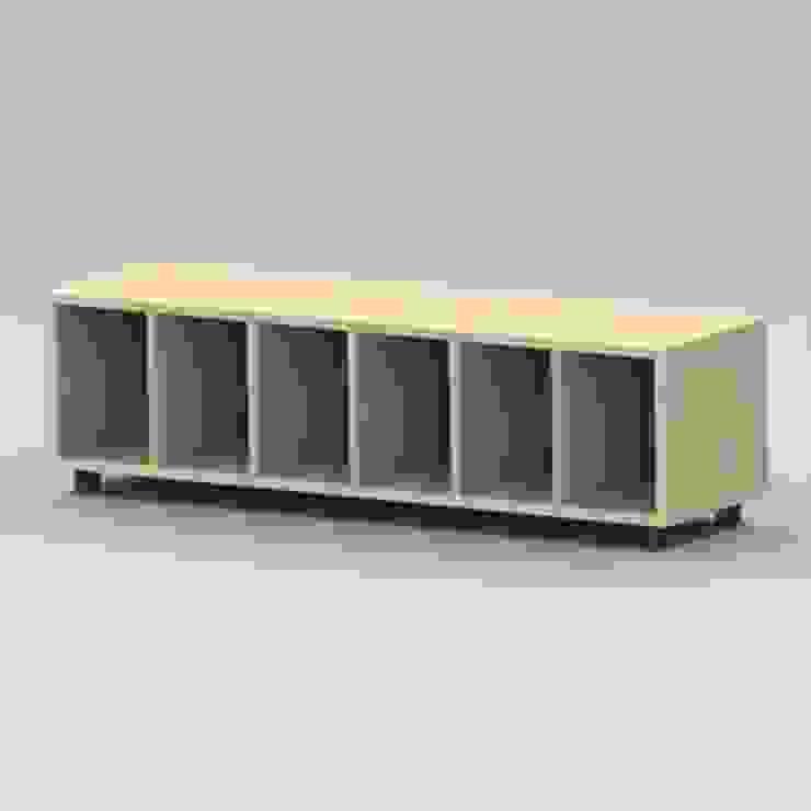 Banco casillero para vestuario de Parareda Mobiliari Moderno