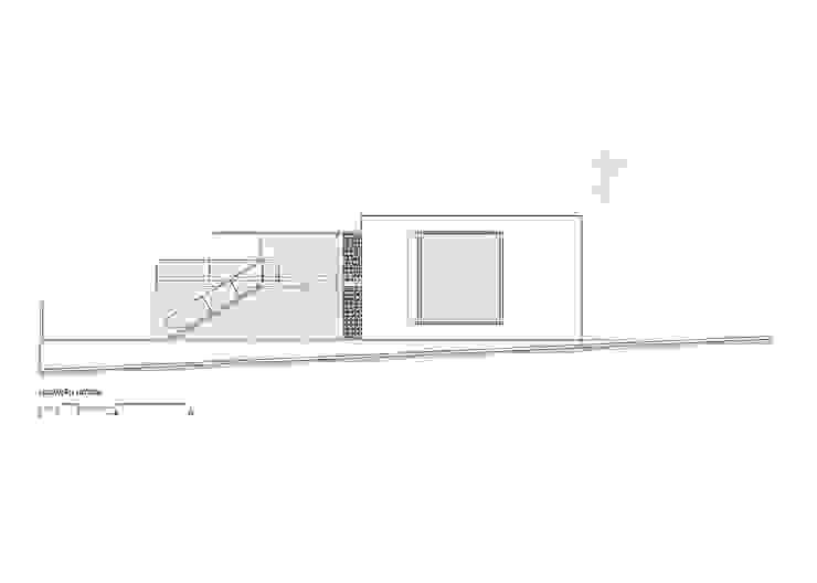 Elevação lateral por Raffo Arquitetura