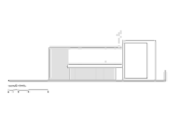 Elevação frontal por Raffo Arquitetura