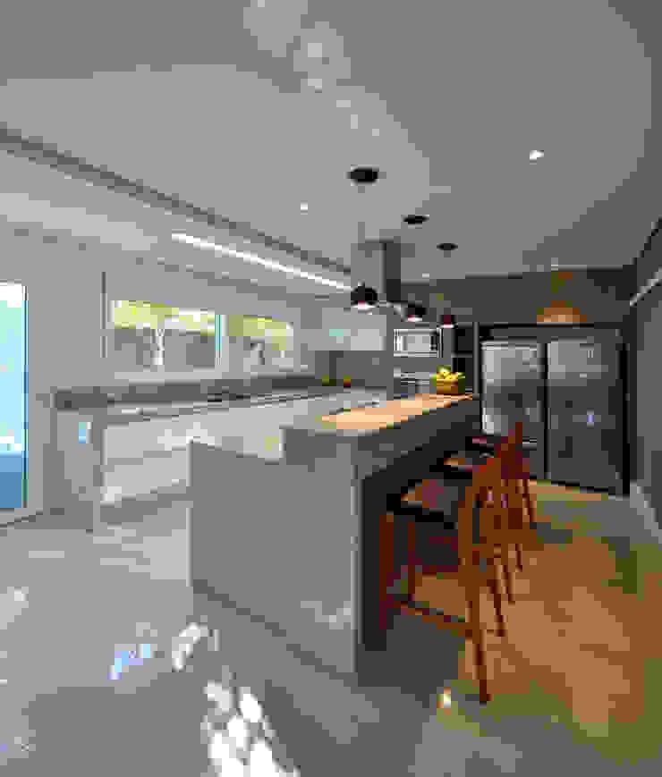 Casa Jabuticaba Cozinhas modernas por Raffo Arquitetura Moderno