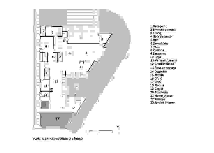 Planta Térrea por Raffo Arquitetura